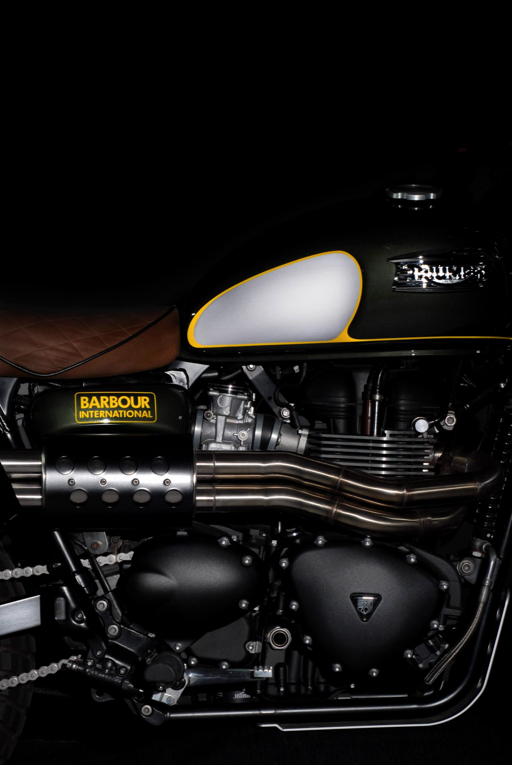 A225, Scrambler, Barbour, Barbour International, Britain, British, Photography, Film, WeAreShuffle, Biker, Motorcycle, Triumph
