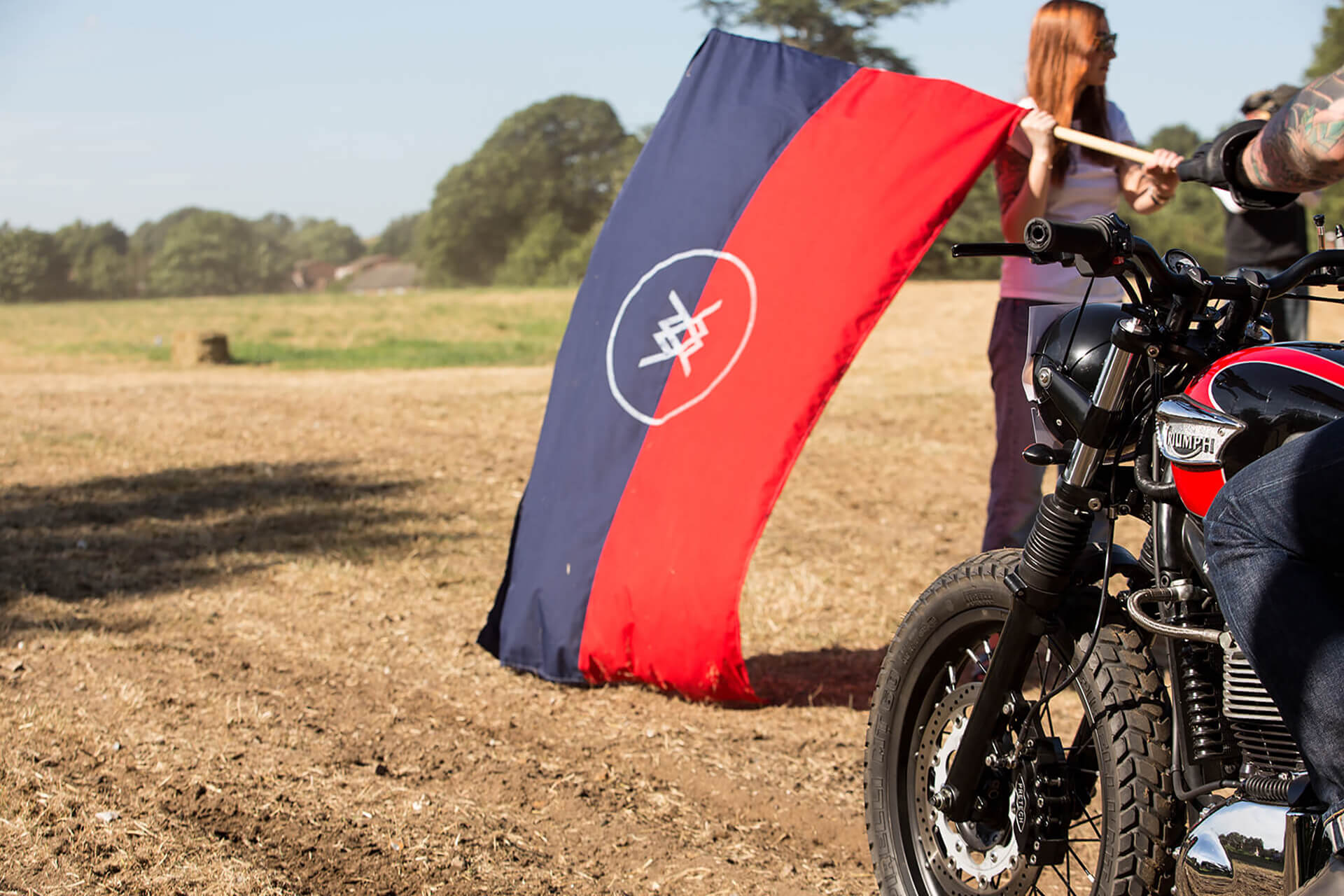 Malle Mile, Event, Motorcycle, Richard, Summer, WeAreShuffle, Agency, Photography, Film, Production, Malle London, Triumph