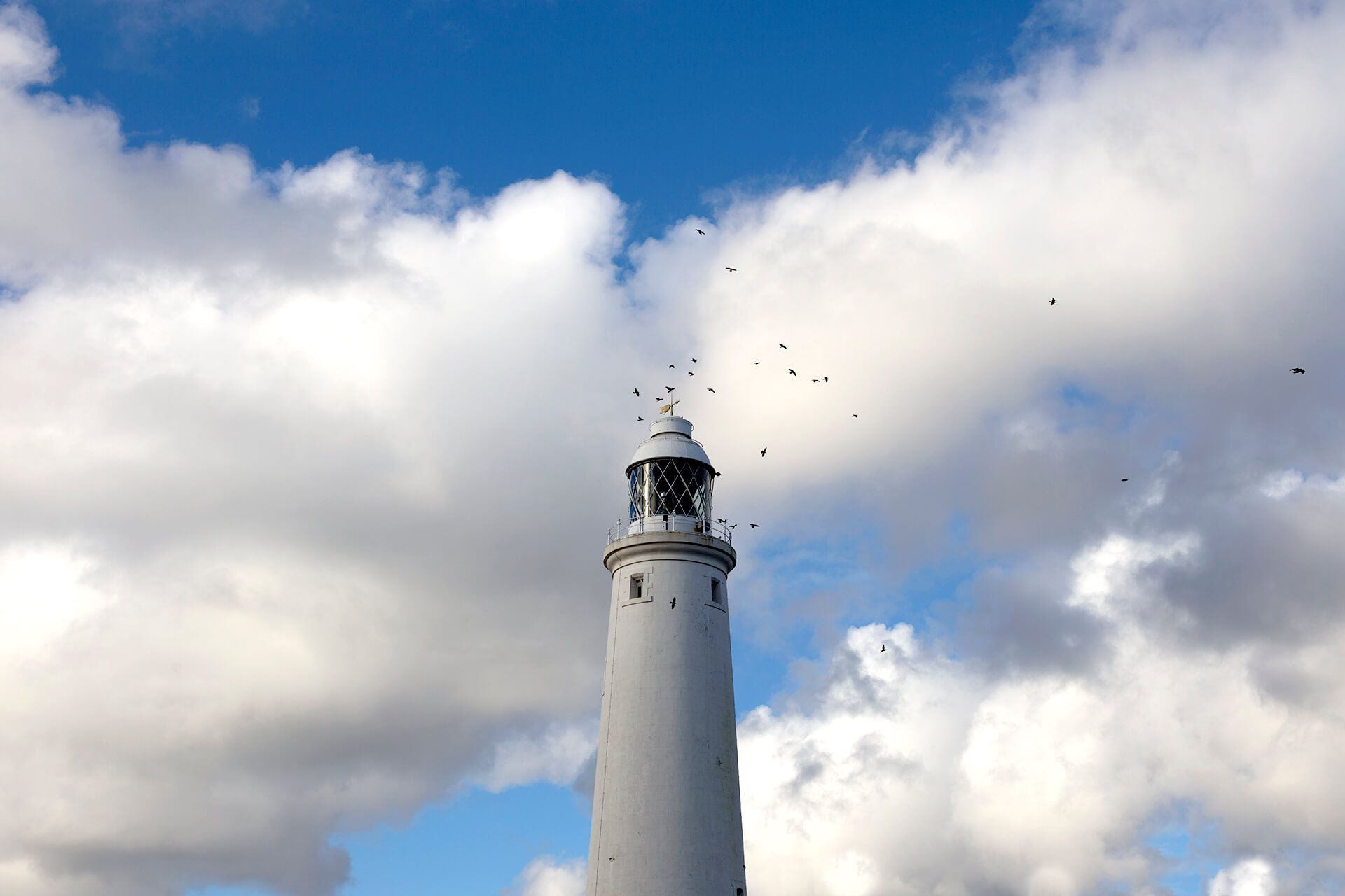 WeAreShuffle, Agency, Creative, Photography, Film, Production, Beach, Lighthouse, Whitley Bay, Sky, Clouds, St Mary's Lighthouse
