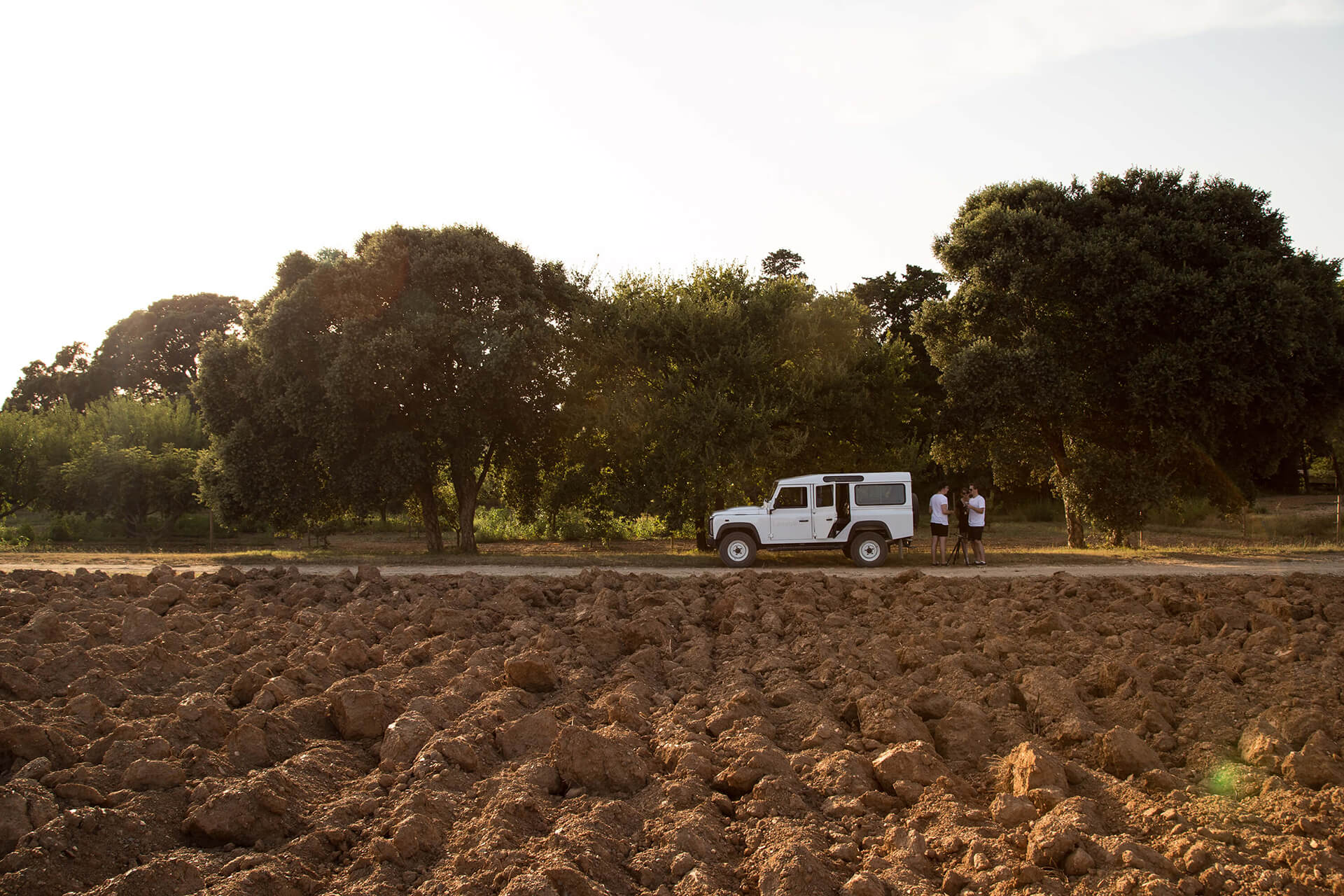 Chateau Leoube, South of France, Organic, WeAreShuffle, Team, Land Rover, Discovery
