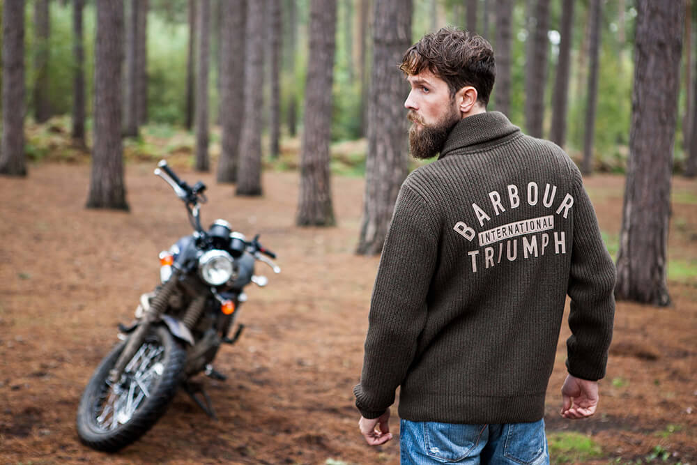 Barbour, International, Triumph, Landscape, England, Motorcycle, Film, Motion, Digital, Scrambler, Fashion, Digital, Agency, Model
