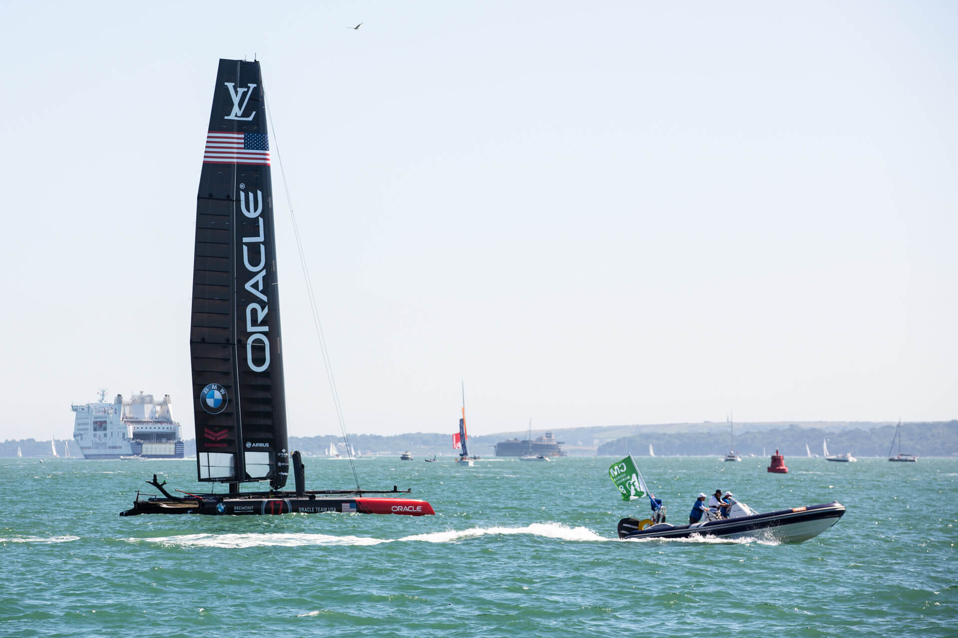 America's Cup, America Cup, World Series, Sailing, Sea, Oracle, Louis Vuitton Race, Boat, Yacht, Summer, Photography, Film, Agency, Marketing, WeAreShuffle, Production, Waves, Portsmouth